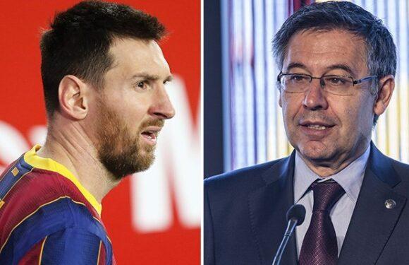 """Eski Barcelona başkanı """"koşullu"""" olarak serbest bırakıldı"""
