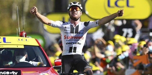 Fransa Bisiklet Turu'nun 12. etabını Marc Hirschi kazandı